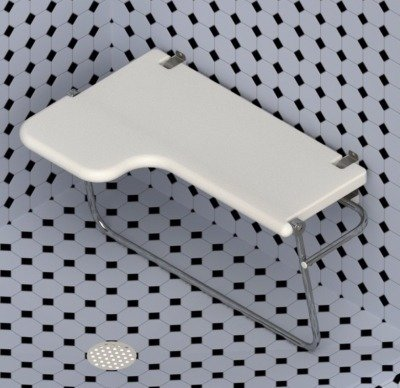 G-32 Sparling Shower Seat - Right