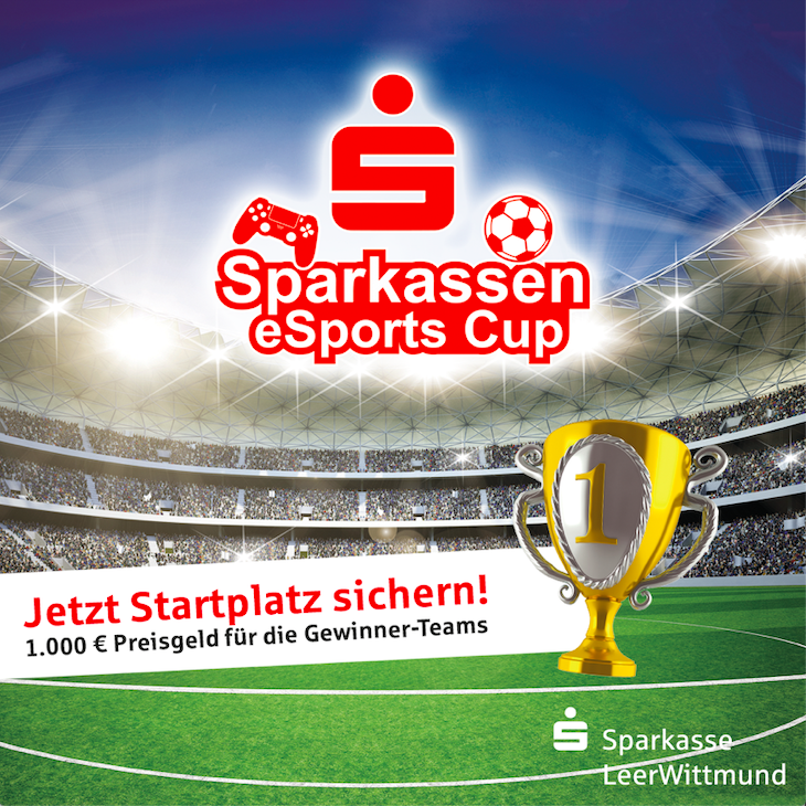 Sparkassen eSports Cup - Sparkasse LeerWittmund // 02.11.2019 // Playstation 4 - 2vs2