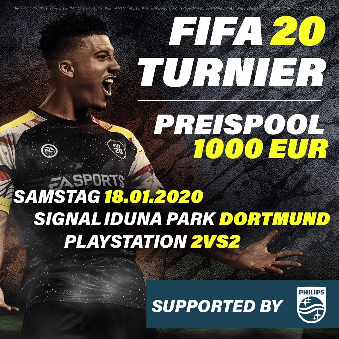 FIFA 20 Turnier - Dortmund // 18.01.2020 // 2vs2