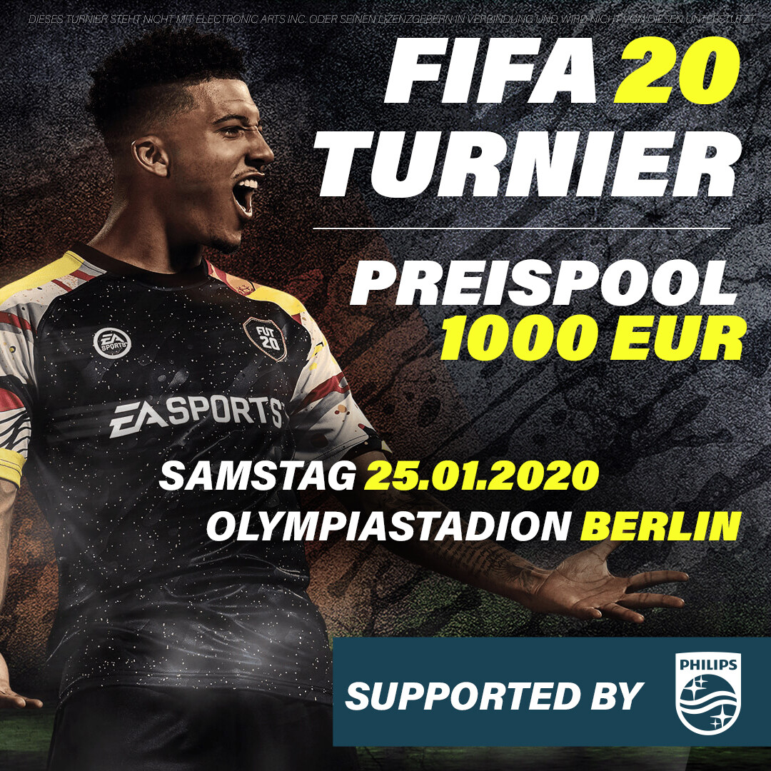 FIFA 20 Turnier - Berlin // 25.01.2020 // 2vs2