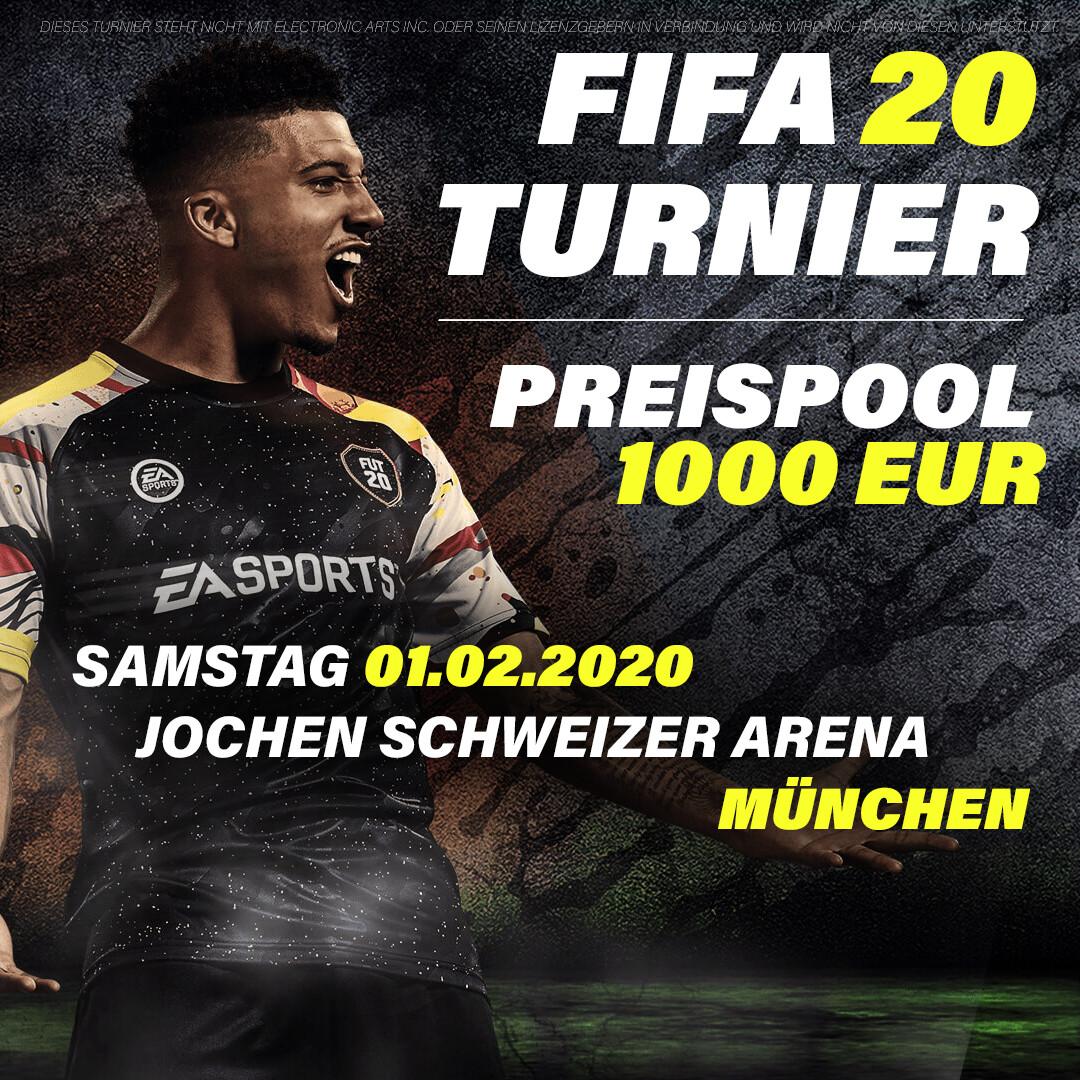 FIFA 20 Turnier - München // 01.02.2020 // 2vs2
