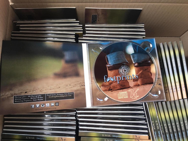 "K-WAK CD ""FOOTPRINTS"""