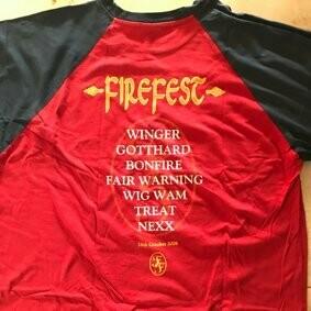 Firefest T-Shirt RAR LIMITED in XL