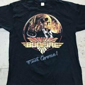 """Bonfire T-Shirt-""""Fuck Corona"""""""