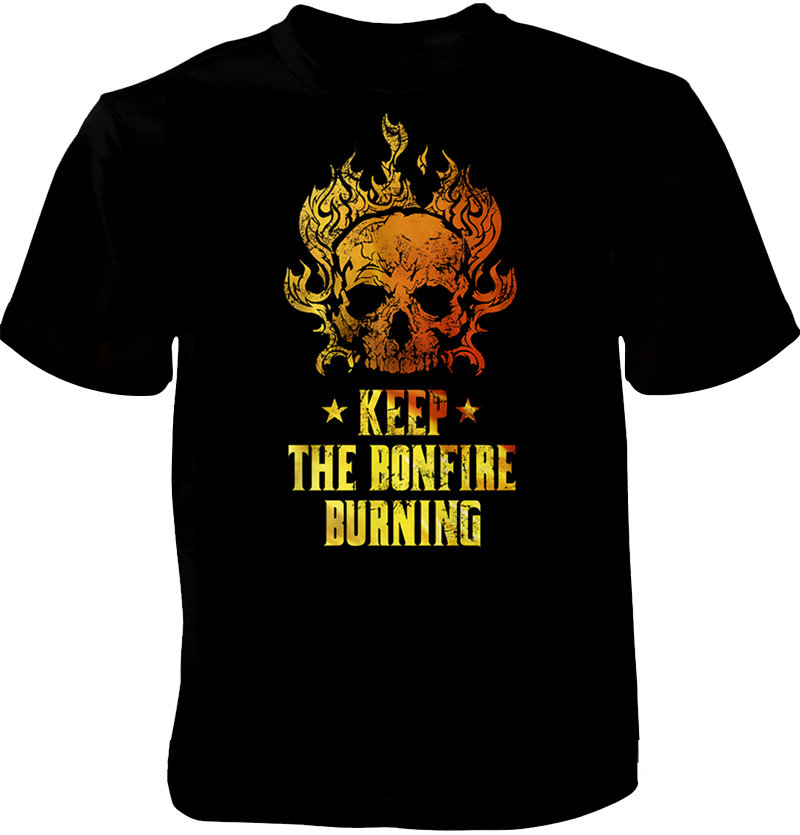 "BONFIRE Shirt ""Keep The Bonfire Burning"" black"