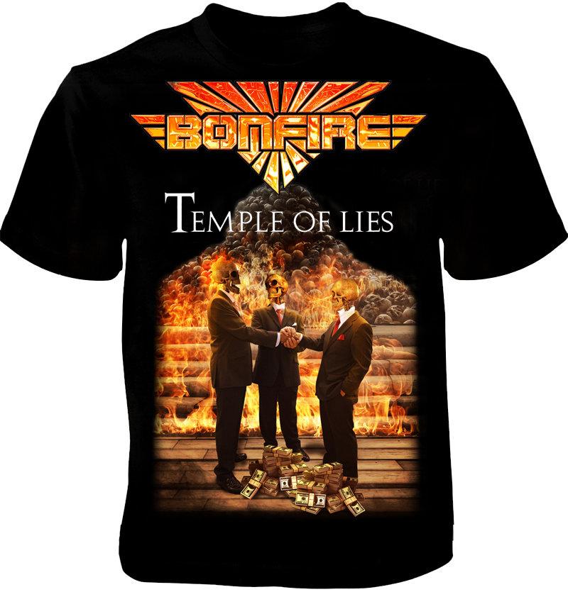 """BONFIRE Tourshirt """"Temple Of Lies"""" 2018"""