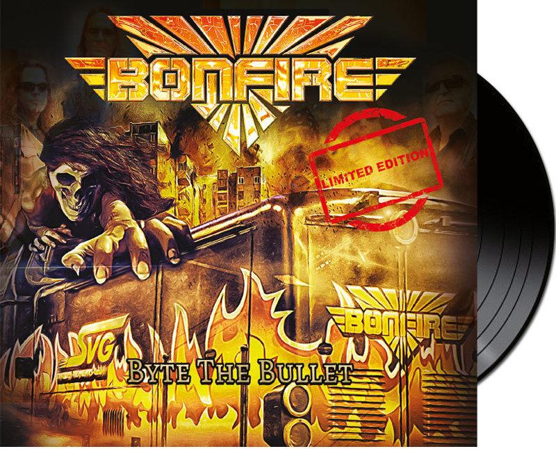 """Vinyl - BONFIRE """"Byte The Bullet"""""""
