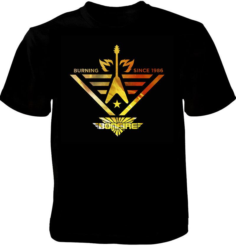 "BONFIRE T-Shirt - ""Burning Since 1986"""