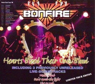 BONFIRE - Hearts Bleed Their Own Blood- EP Jewelcase