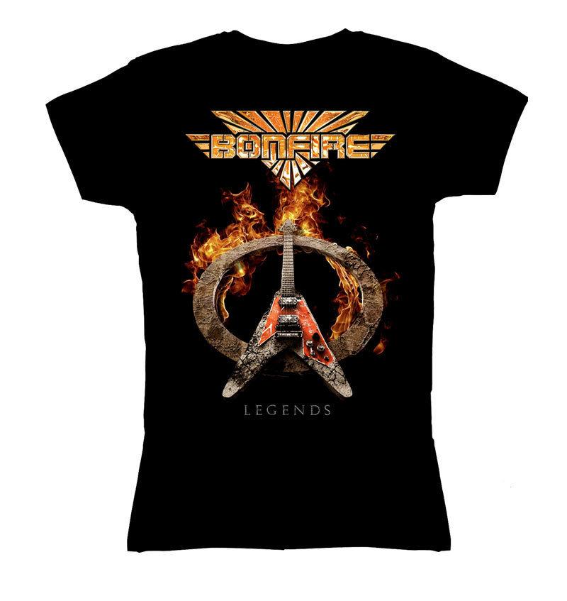 "Girlie Shirt BONFIRE ""Legends"""
