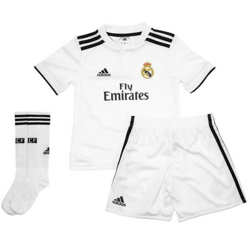 Uniforme Real Madrid Niño Local