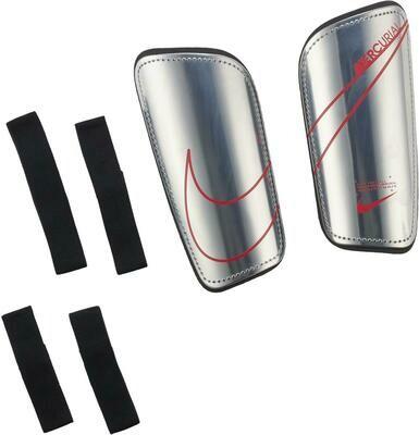 Espinilleras Nike Mercurial Metallic Silver