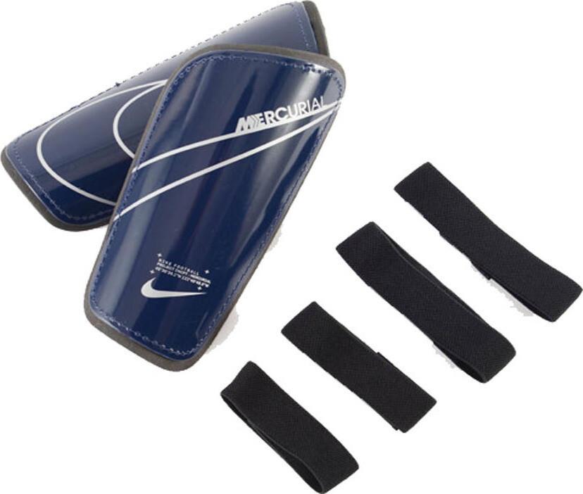 Espinilleras Nike Mercurial Blue Void