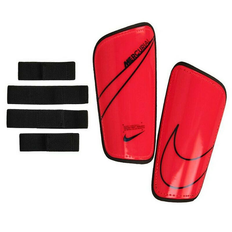 Espinilleras Nike Mercurial Laser Crimson