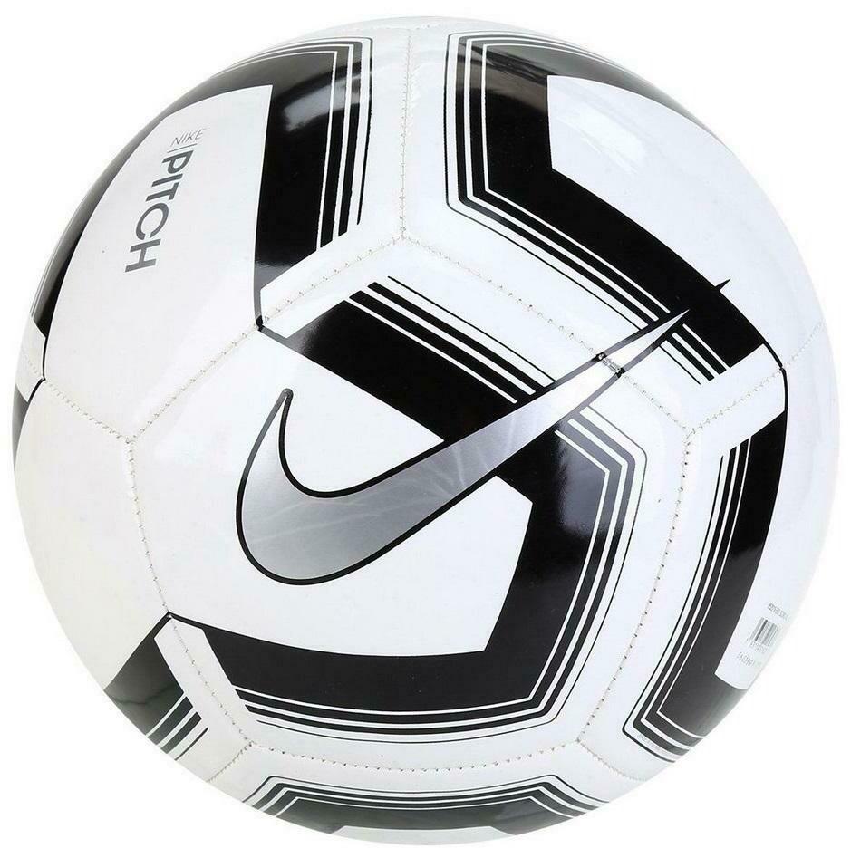 Balón Nike Pitch Train Black/White #4