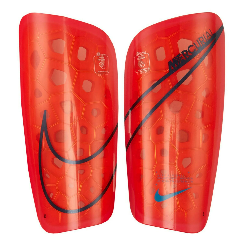 Espinilleras Nike Mercurial LT Laser Crimson