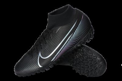 Nike Mercurial Superfly 7 TF Adulto Black/Black