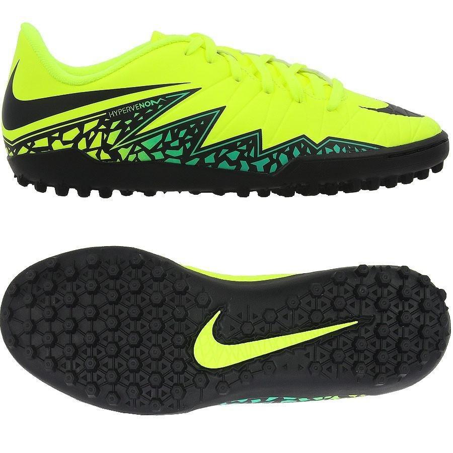 Nike Hypervenom Phelon II Niño TF - Amarillo Fosforescente