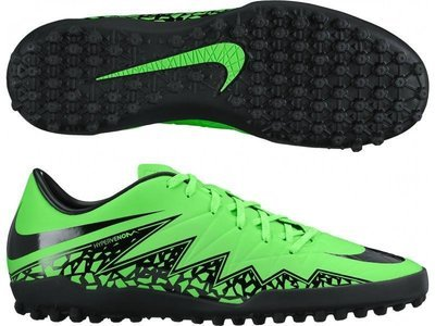 Nike Hypervenom Phelon II Niño TF - Verde/Negro