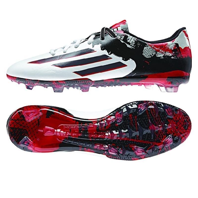 Adidas Messi 10.2 FG Adulto - Blanco/Rojo