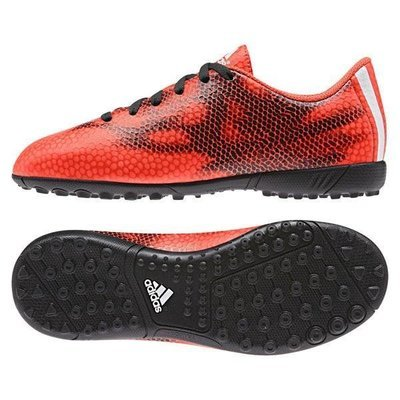 Adidas F5 Niño - Rojo/Negro