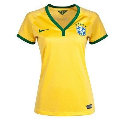 Camisola Brasil Local 14 Dama