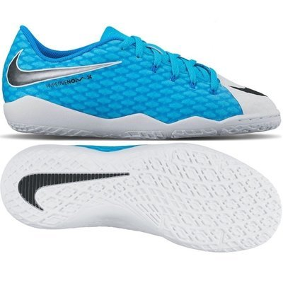 Jr. Hypervenom Phelon IC Infante y Niño - White/Blue
