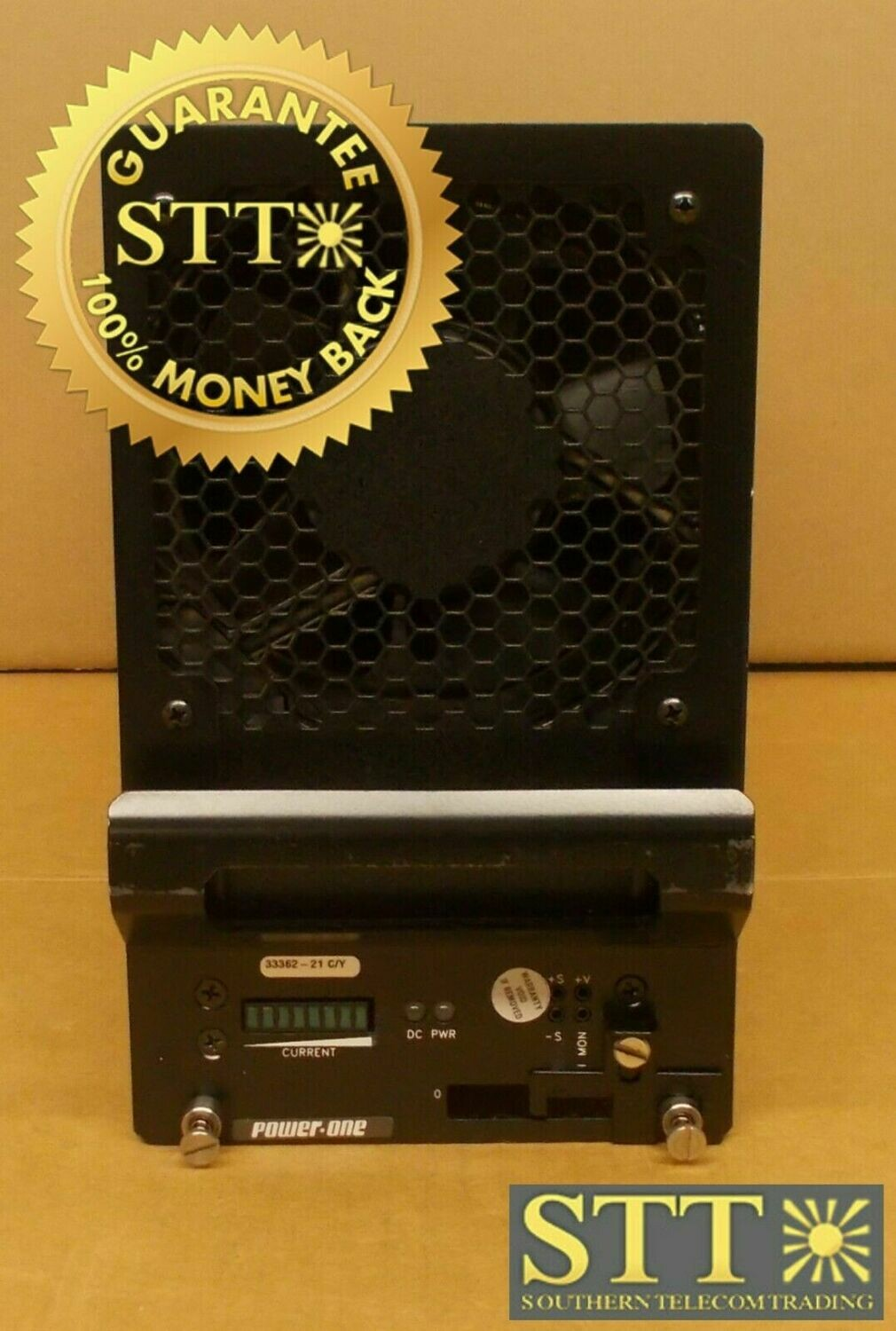 10A0061-001 POWER-ONE HVR48/75 75 AMP POWER RECTIFIER REFURBISHED - 90 DAY WARRANTY