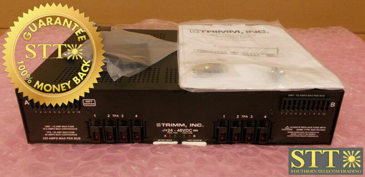 N250120-N/L9 NORANTEL FUSE PANEL DUAL FEED 200A 10/10 A&B GMT 24/48V PWFYAPXTAA REFURBISHED - 90 DAY WARRANTY