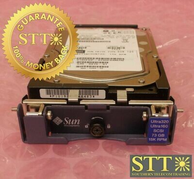 MAX3073NC FUJITSU LIMITED SUN HDD CA06560-B22000SU 540-6915-01 73GB 15K RPM USED - 90 DAY WARRANTY