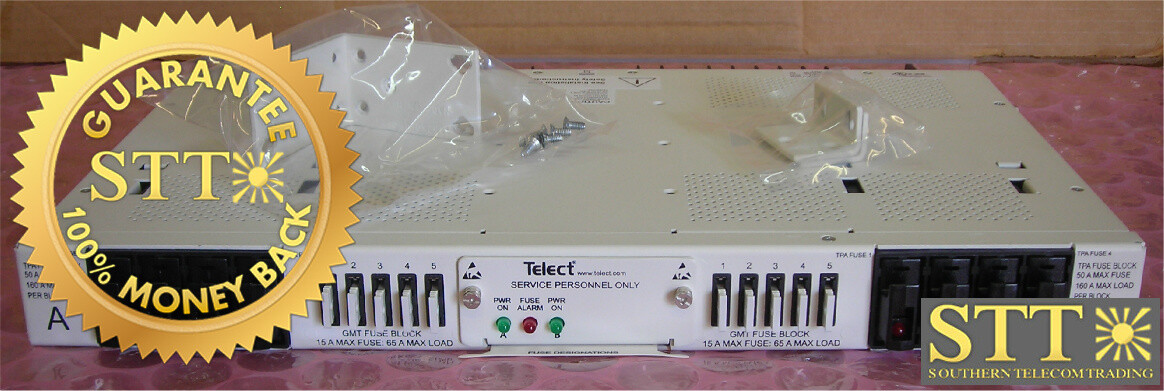 009-8005-0404 TELECT 200 AMP 4/5 TPA/GMT DUAL FEED FUSE PANEL XCWYACNDAA REFURBISHED - 90 DAY WARRANTY