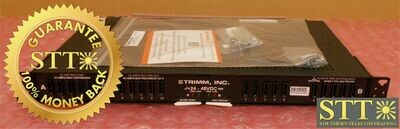 7076101001 TRIMM FUSE PANEL DUAL FEED 125 AMP PER BUS 10/10 GMT PWFYAS99RA NEW - 90 DAY WARRANTY