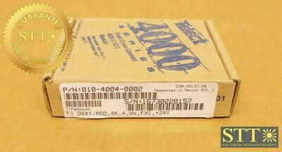 010-4004-0002 TELECT 24V DSX-1 MODULE 4 PORT T1PQAGULAA NEW - 90 DAY WARRANTY