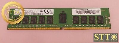 M393A2K40CB1-CRC0Q SAMSUNG 16GB 1RX4 PC4-2400T-RC1-12-DCO DDR4 ECC DIMM USED - 90 DAY WARRANTY