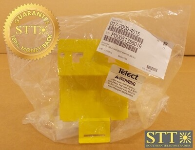 """027-2000-4015 TELECT WAVETRAX 4"""" TO 4"""" CABLELINKS VRTCL DROP ADAPTER METAL NEW - 90 DAY WARRANTY"""