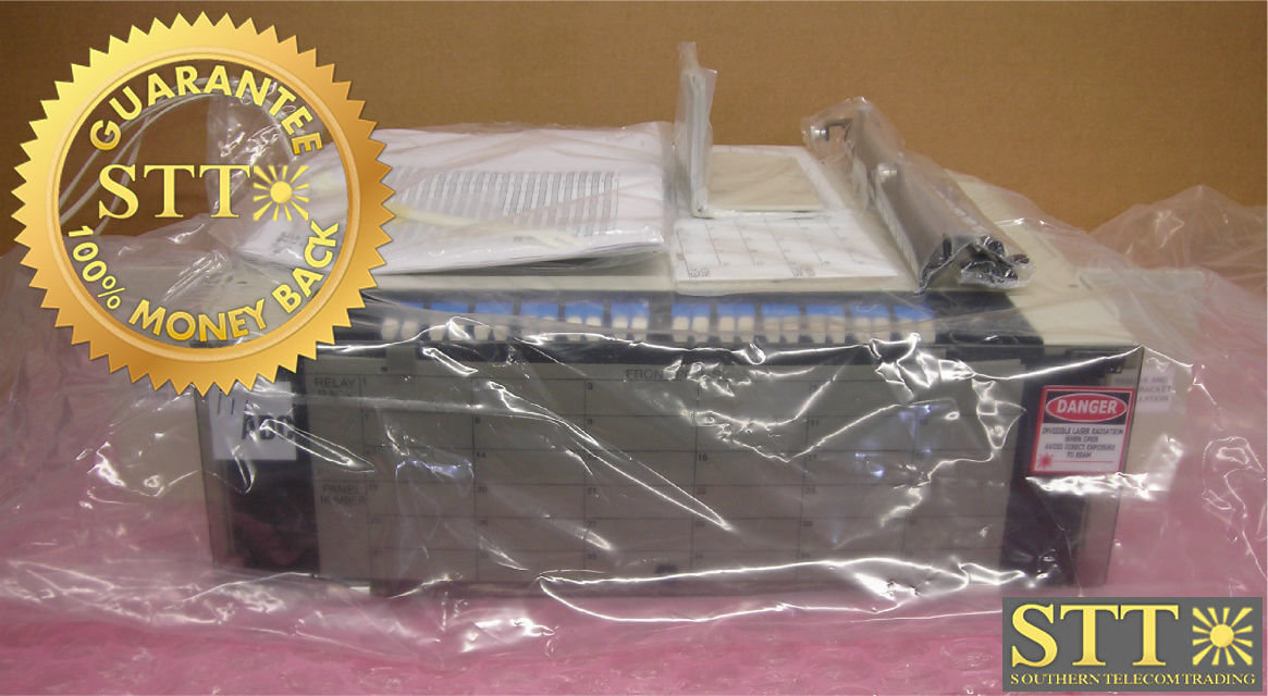 RCP-377PUK03109 TE FIBER PANEL 72 FIBER UPC/SC-LC SM 100 FT NEW - 90 DAY WARRANTY