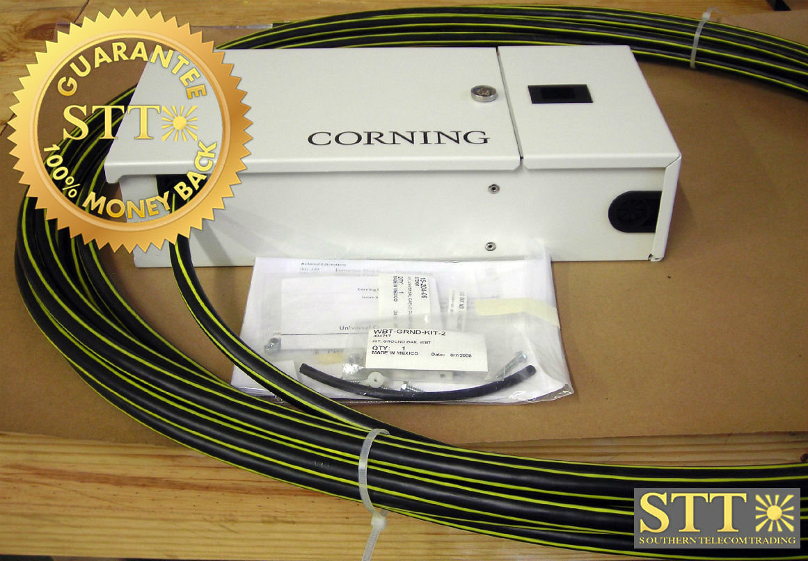 WBTP2416-5C-CF001C CORNING FIBER PANEL 24 POS SC W/ 16M PIGTAIL NEW - 90 DAY WARRANTY