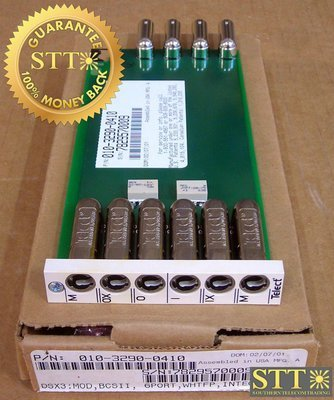 010-3290-0410 TELECT 6 PORT MINI WECO TO BNC MODULE NEW - 90 DAY WARRANTY