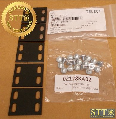 02128-05+03 TELECT JUNCTION KIT UF CABLEDUCT RACK NEW - 90 DAY WARRANTY