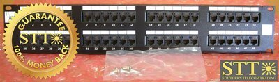 ADCPP485800BTEL ADC 48 PORT PATCH PANEL REFURFISHED - 90 DAY WARRANTY