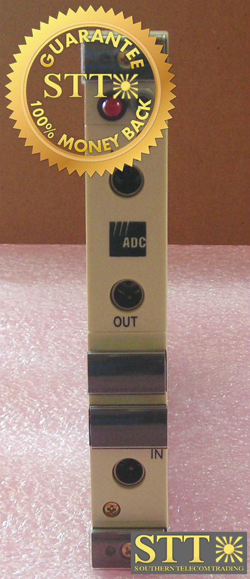 DSX-4H-MBRC ADC DSX 4H DS3 CROSS CONNECT MODULE T3PQCA61AA REFURBISHED - 90 DAY WARRANTY