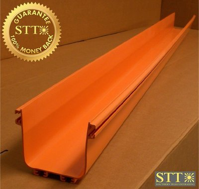 FGSO-MSHS-A COMMSCOPE / TE / ADC 4 X 4 6 FT STRAIGHT SECTION ORANGE NEW - 1 YEAR WARRANTY
