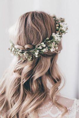 Hair flowers Hester