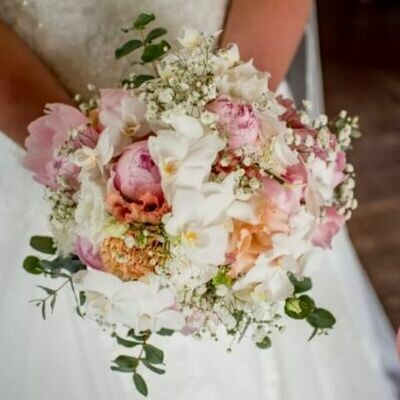 Bruidsboeket Orchid Love