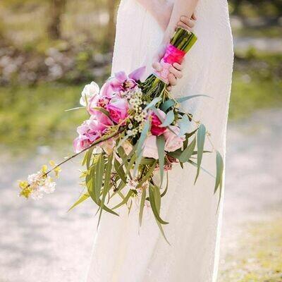 Bruidsboeket Spring Pink