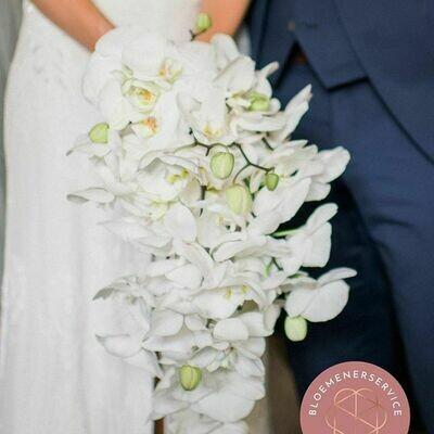 Bruidsboeket Traditional White
