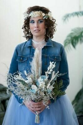 Light blue collectie: bruidsboeket (koop)