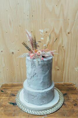 Set droogbloemetjes voor op je taart in stijl en kleur naar keuze