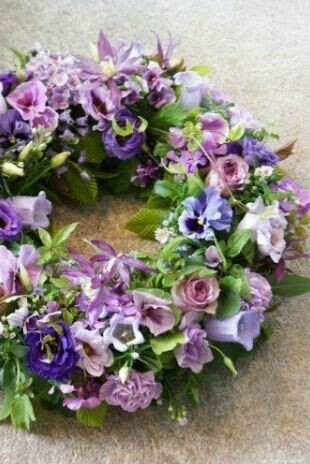 Auto decoratie Purple