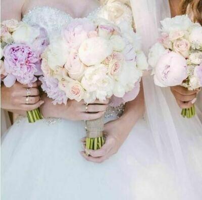 Bruidsboeket Pretty Pastels